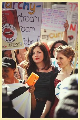slutwalk London 2012 a light