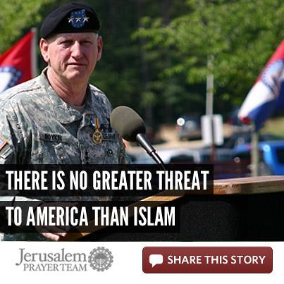There Is No Greater Threat to America than Islam  - Jerusalem Prayer Team Article