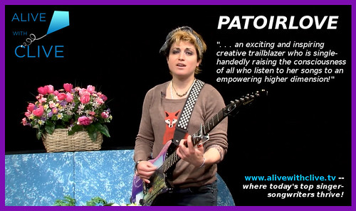 Patoirlove in her 3rd Show on Alive with Clive