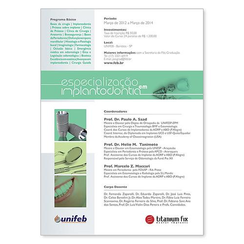 Unifeb - Especialização em Implantodontia