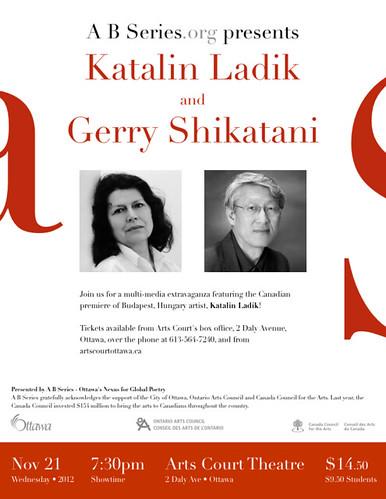 Katalin Ladik & Gerry Shikatani in A B Series
