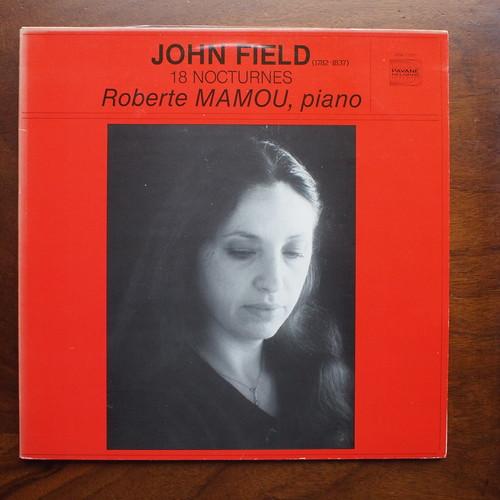 John Field - 18 nocturnes - Roberte Mamou Piano, Pavane Records ADW 7110/1