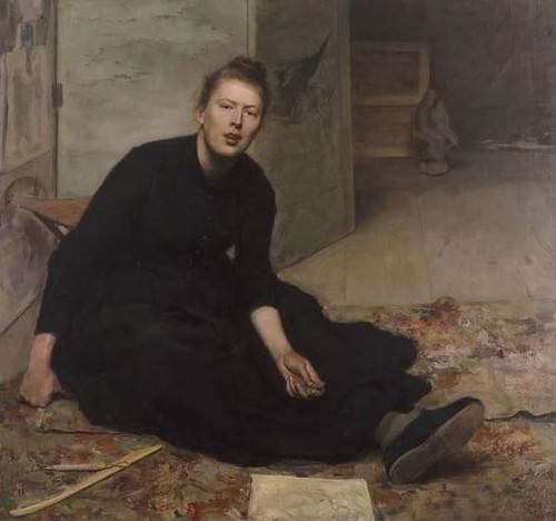 Hanna+Hirsch-Pauli%2C+Portrait+of+Artist+Venny+Soldan-Brofeldt++%28Finnish+painter%2C+1863-1945%29+c+1887