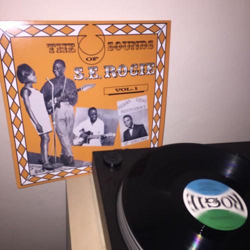 Effortless, beautiful: S. E. Rogie #vinyl #vinylcollection #vinylrecords #vinyljunkie #vinyladdict