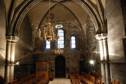 Inside Nidarosdomen Cathedral-a ghost story