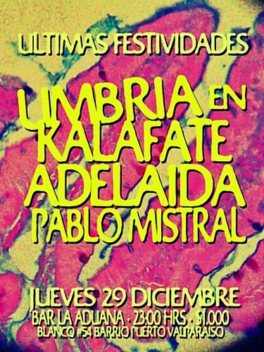 Adelaida, Umbria en Kalafate y Pablo mistral