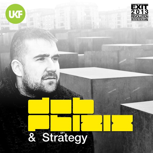 Dub Phizix & Strategy - UKF EXIT X-BASS Takeover - Instagram 800x800