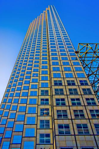 Southeast Financial Center, 200 S. Biscayne Blvd, Miami, Florida / Built: 1984 / Architect: Skidmore, Owings & Merrill Edward Charles Bassett Spillis, Candela & Partners, Inc. / Structural Engineer: Skidmore, Owings & Merril / Height: 764 ft / Floors: 55