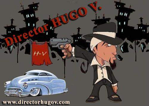 Director Hugo V cartoon by FherToons Los Angeles
