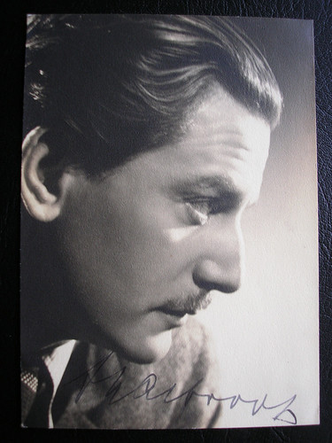My Signed Photo of Austrian Actor Anton Walbrook.