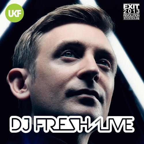 DJ Fresh Live - UKF EXIT X-BASS Takeover - Instagram 800x800