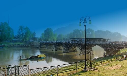 Zero Bridge, Jhelum River, Srinagar