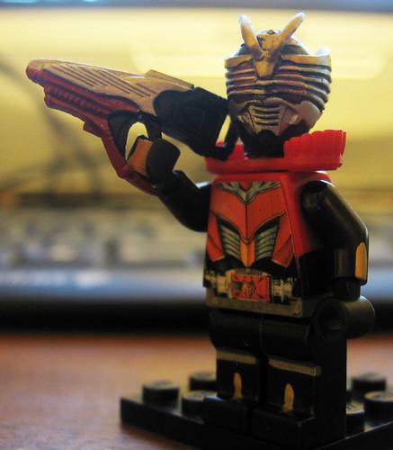 Kamen Rider Ryuki Dragon Knight LEGO Survive