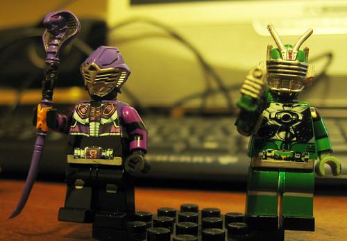Ryuki Dragon Knight LEGO Ouja Zolda Torque Strike