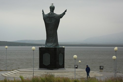 The World's Largest Monument to Saint Nicholas Anadyr Chukotka Far East Russia