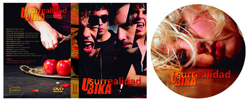 Cover DVD - Surrealidad (Ubika)