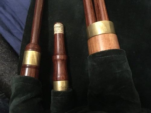 FS: Hamish Moore Scottish smallpipes in A, permali, $1350 shipped conus (bellows available)