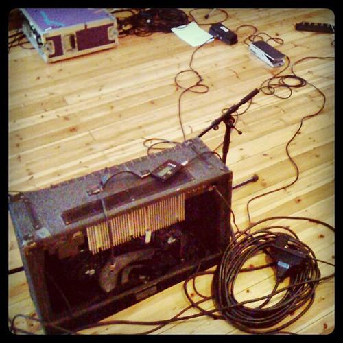 Janne Schaffer's guitar amp