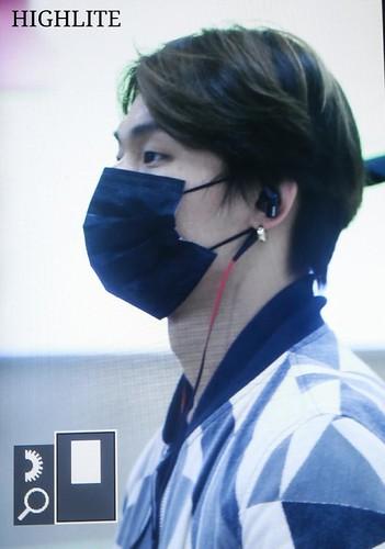 Big Bang - Gimpo Airport - 07jun2015 - Dae Sung - High Lite - 03