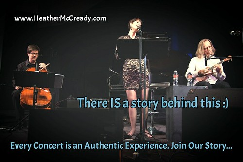 Heather McCready Trio. There IS a Story Behind This :)