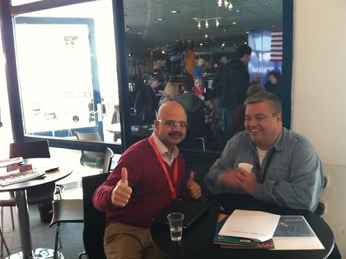 Keith Ferreira (Silva Screen Music) taking the meeting