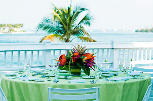 The Westin Key West Resort & Marina—Wedding receptions on Sunset Deck