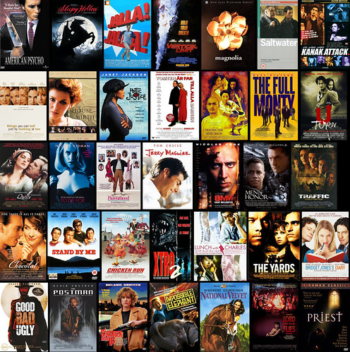 The 35 movies I saw in 2001 :)