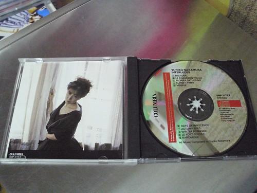日本歌手及作曲家 1988年 中村由利子 Yuriko Nakamura INTERLUDES CD 2