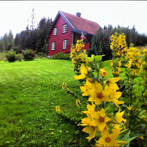 My Great Great grandmothers house in Nor Odahl Norway.
