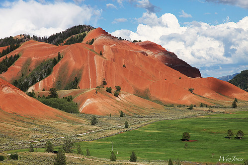 Red Hills Anticline
