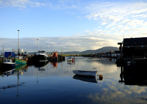 A Nice Evening At Stromness Harbour