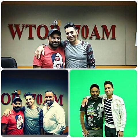 Ajj da live radio raonuk punjab dee kamal heer and parmjeet bhakna