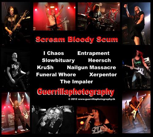 scream bloody scum 2012 facebook