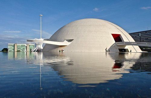 The great brazilian architect Oscar Niemeyer has died. Explored (#98. Dec 5 2012).