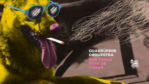 Quadrúpede Orquestra - Por Favor Pare de Fumar