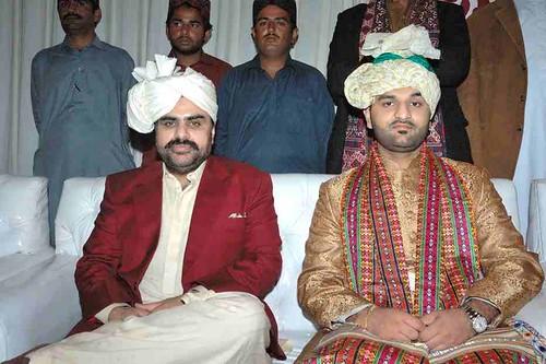 Syed Nasir Hussain Shah With Haji Khan Mahar