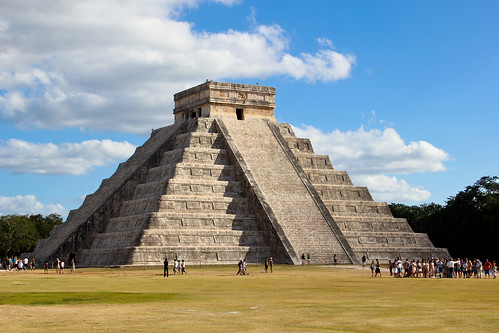 Kukulcan, The Main Temple at Chichen Itza