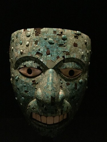 Mask (human face, possibly representing Xiuhtecuhtli)