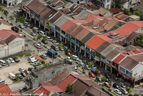 A view of Chulia Street from Komtar