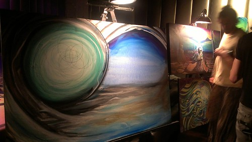 live art by tribe 13