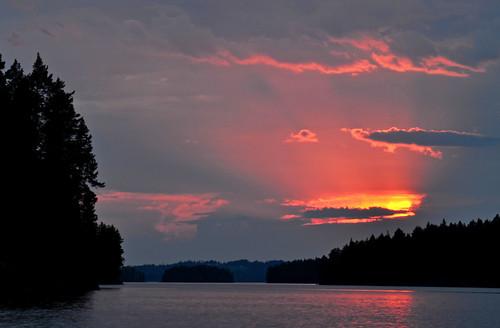 Sunset at Juni