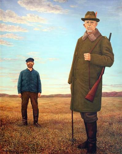 Asen, Tage (1943- ) - Gustav V Hunting Elk