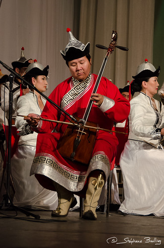 Morin khuur -  Horse-head fiddle