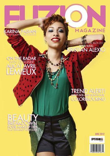 Karina Pasian Fuzion Cover