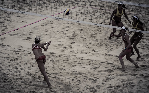 2012 Olympic Woman's Beach Volleyball