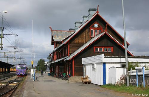 Vännäs Järnvägsstation
