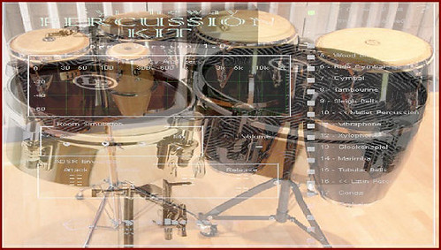 Syntheway Virtual Afro-Cuban Latin Percussion Kit VSTi: Bongos, Congas, Timbales VST Plugin Software