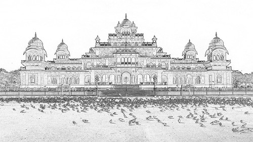 India - Rajasthan - Jaipur - Central Museum Jaipur - 1dc