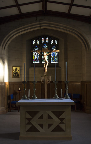The Altar in Hinsley Hall Chapel