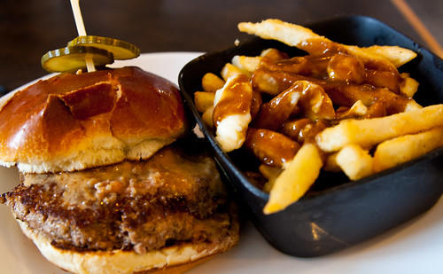you got peanut butter in my burger!